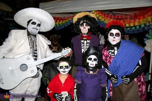 Tia Rosita, Hector, Miguel, Mama Imelda, Ernesto de la Cruz, Disney Pixar Coco Costume