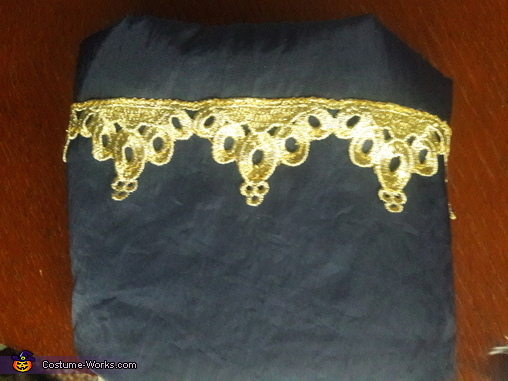 Cuff trim, Disney Princes Costume
