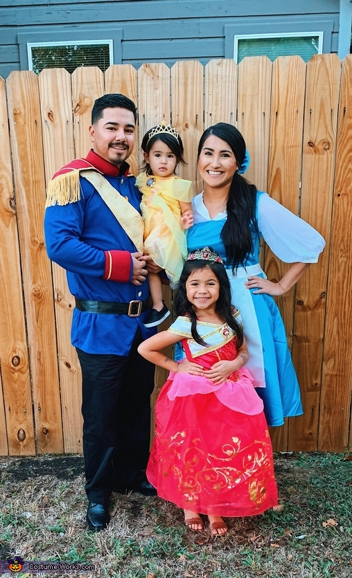 Disney Princesses and Prince Costume