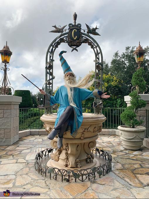 Make a little Merlin Magic, Disney Sword in the Stone Merlin and Arthur Costume