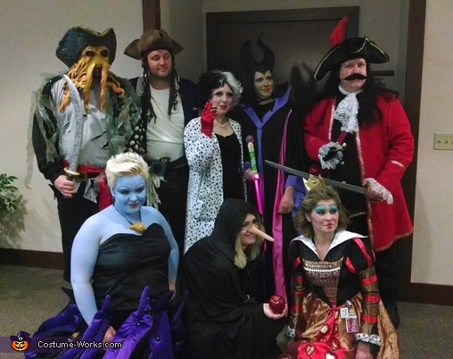 disney villains group costume