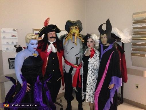 Harnessing our inner evil, Disney Villains Group Costume