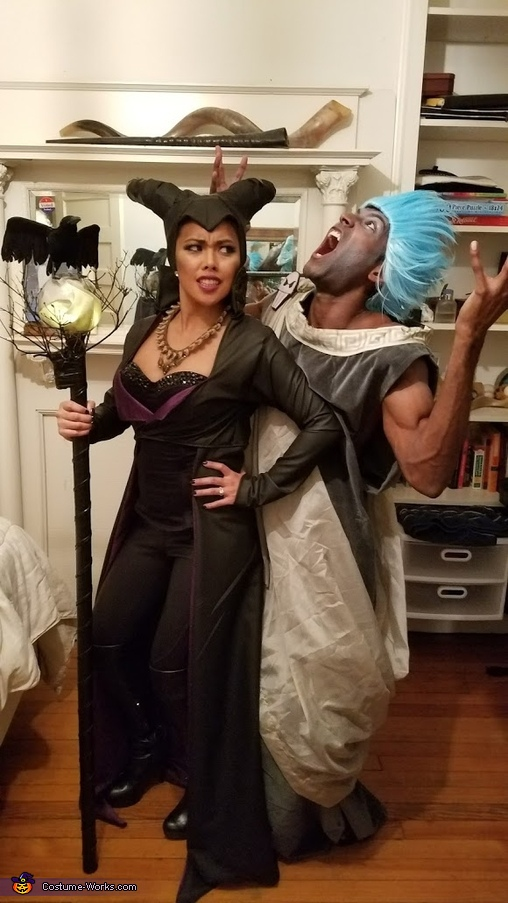 Maleficent and evil laughing Hades, Disney Villains Costume