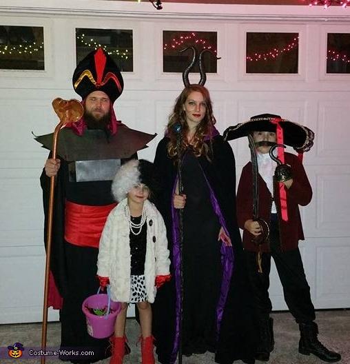 Disney Villains Family Costume