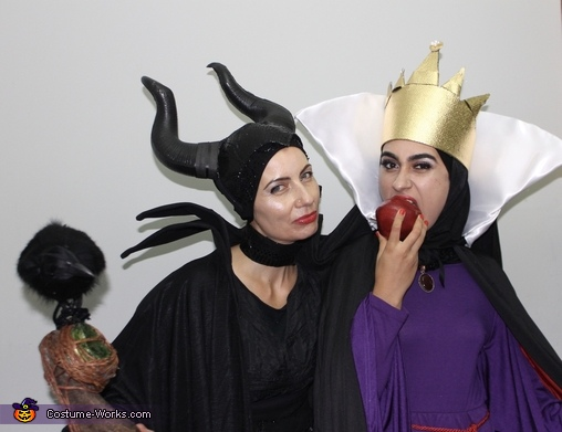 Disney Villains - The Evil Queen and Maleficent Costume