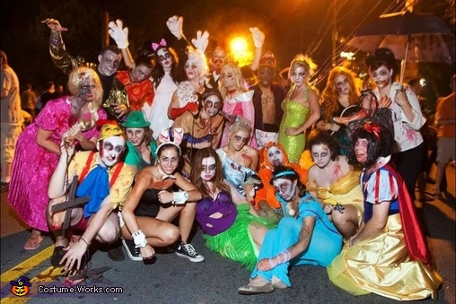 Disney Zombie Group Costume Idea