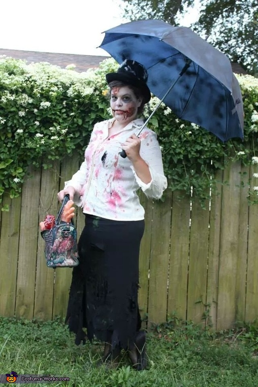 Mary Poppins and her develish bag of tricks, Disney Zombie Group Costume