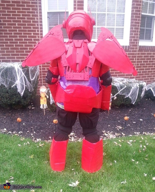 Disney's Big Hero 6 Baymax Homemade Costume