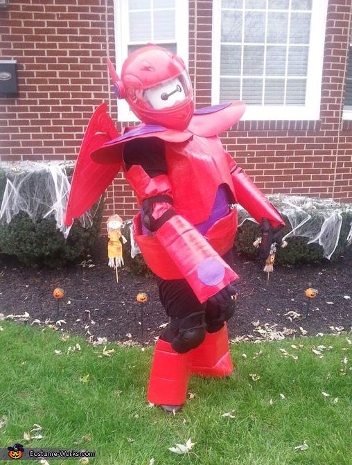 Disney's Big Hero 6 Baymax Homemade Costume