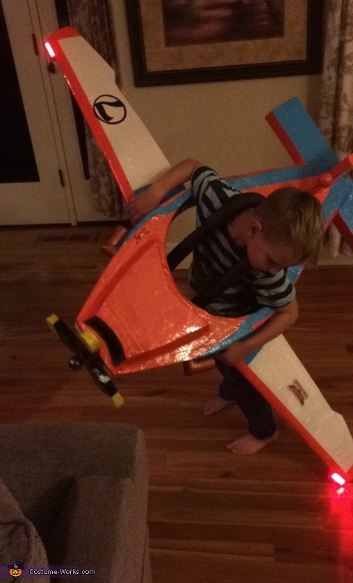 Disney's Planes Dusty Crophopper Homemade Costume