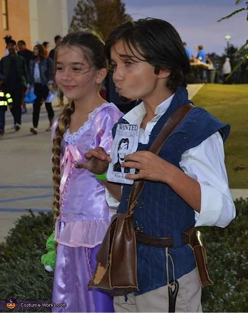 Tangled , Tangled Rapunzel and Flynn Rider Costume