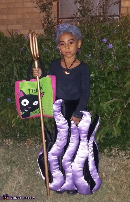 Disney's Ursula Homemade Costume