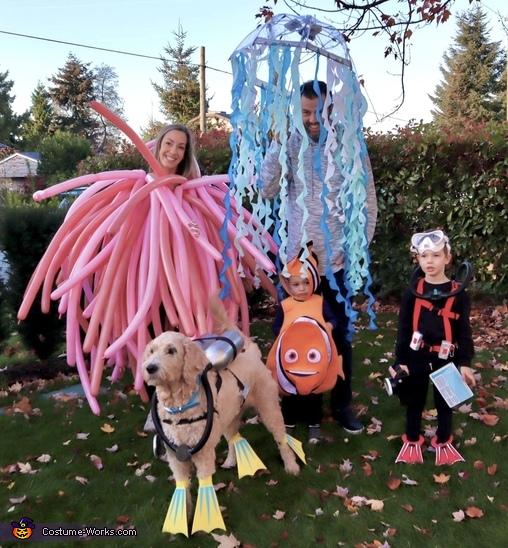 Dive Team Costume