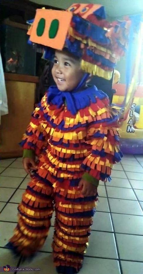 The Walking Pinata Homemade Costume