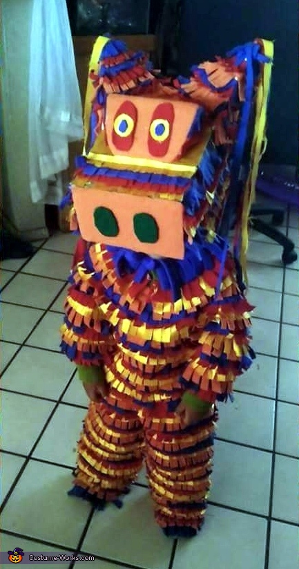 The Walking Piñata Costume