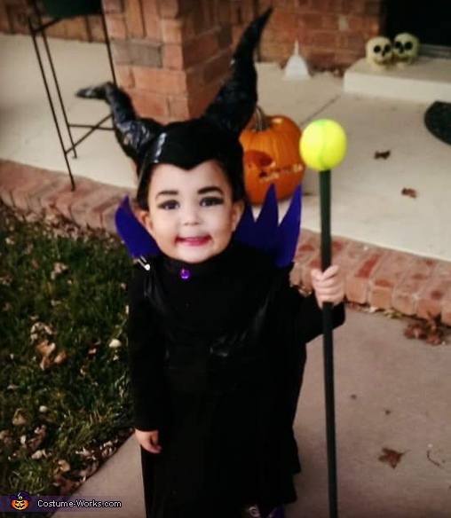 Diy Maleficent Baby Girl S Costume