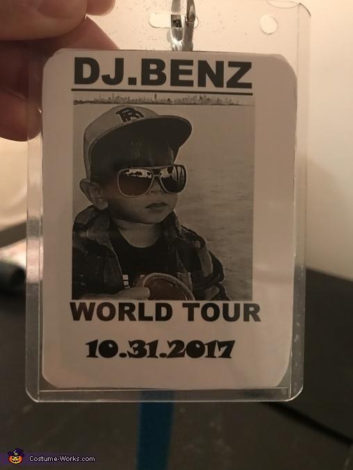DJ Benz Homemade Costume