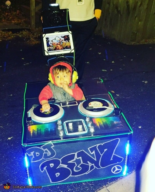 DJ Benz Costume