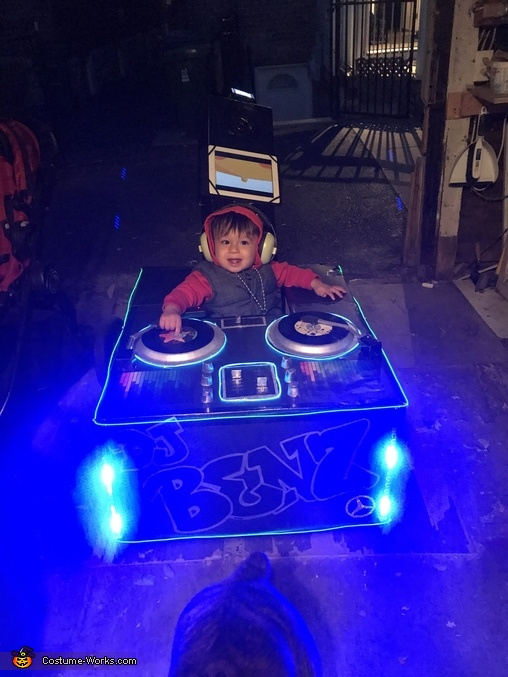 DJ Benz Homemade Costume