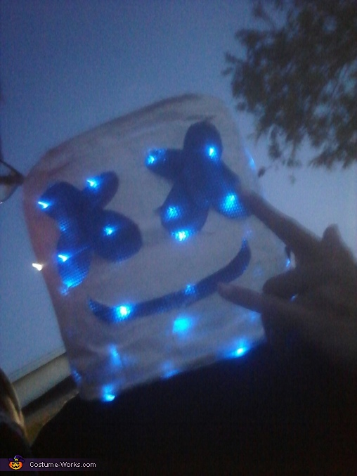 DJ Marshmello Costume - Photo 3/3