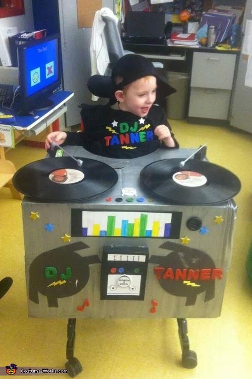 DJ Tanner Baby Costume
