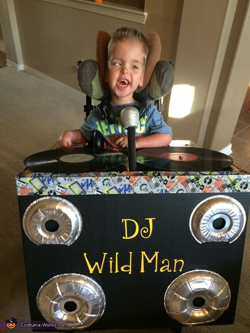 DJ Wild Man Costume