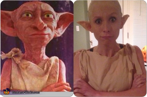 Our side by side, Dobby the House Elf Costume
