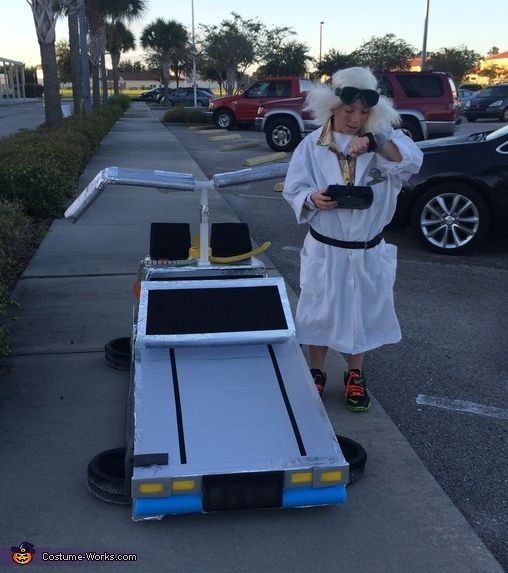 Marty! What time is it?, Doc Brown and the Delorean Costume