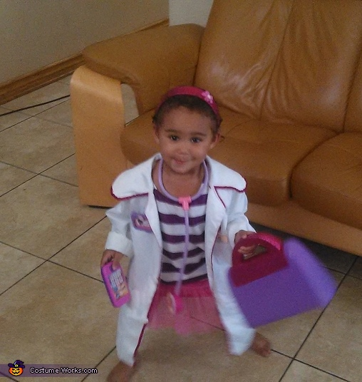 Doc McStuffins Girl's Costume