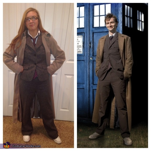 Doctor Who Homemade Costume