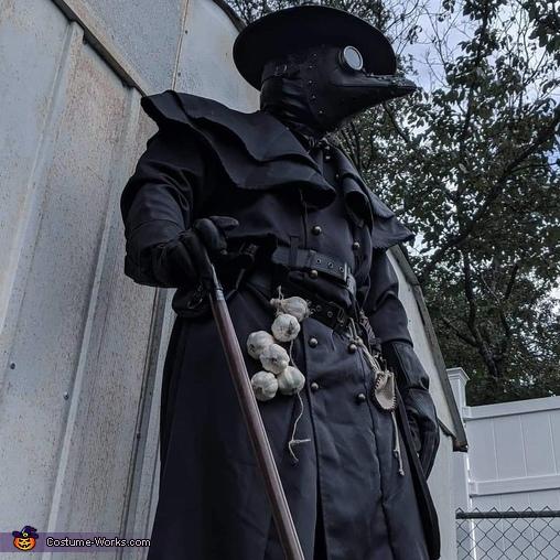 Doctor Blackheart Homemade Costume