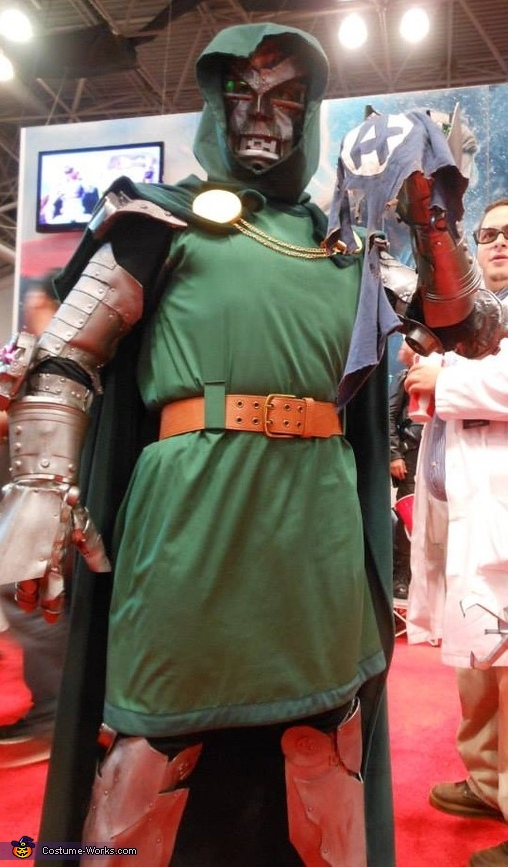 Front View of Doom Armor, Doctor Doom Costume