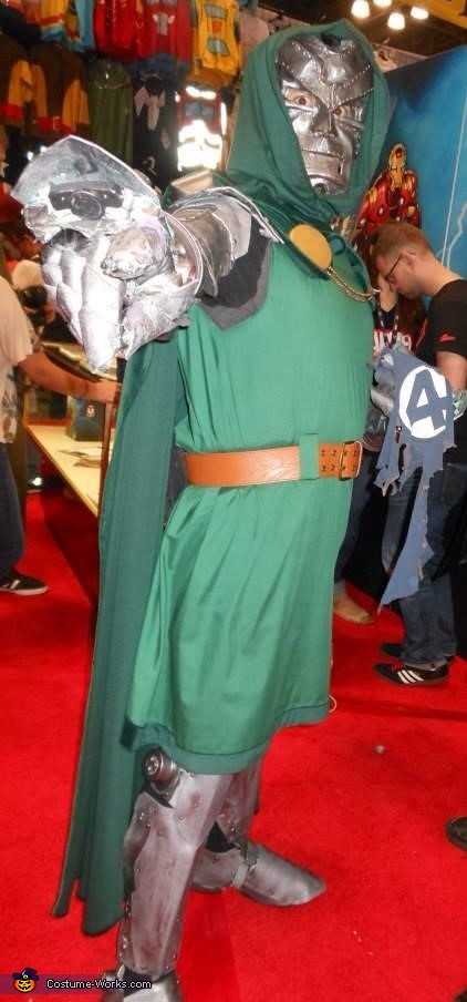Side View of Doom Armor, Doctor Doom Costume