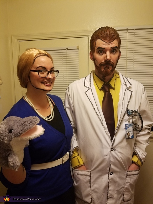 Krieger and Pam!, Doctor Krieger Costume