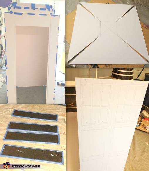 Constructing the TARDIS, Doctor Who and the Tardis Costume