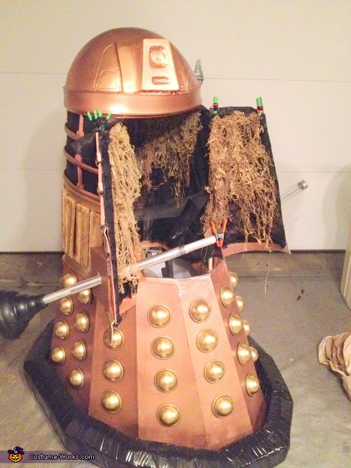 Almost there, Doctor Who Dalek Costume