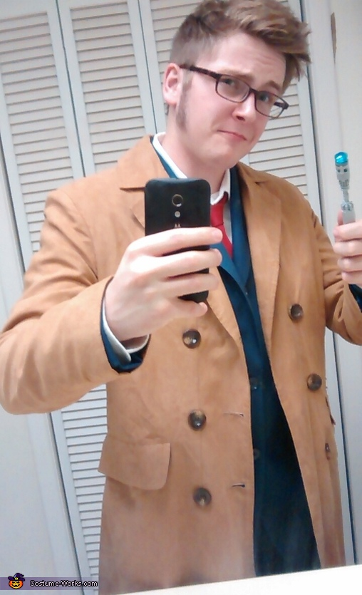 Better view of the sideburns, Doctor Who the 10th Doctor Costume