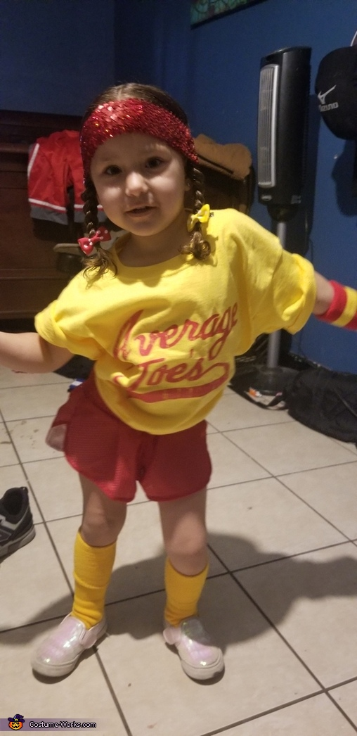 Dodgeball Homemade Costume