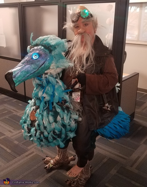 Dodo Bird and Rider Costume