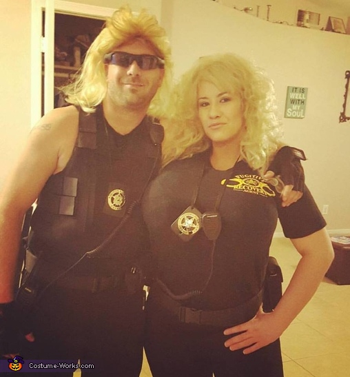Dog and Beth Homemade Costume