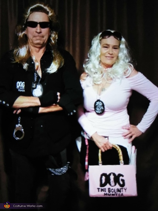 Dog and Beth The Bounty Hunters Costume