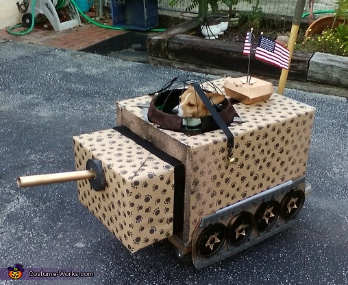 Dog Tank Costume