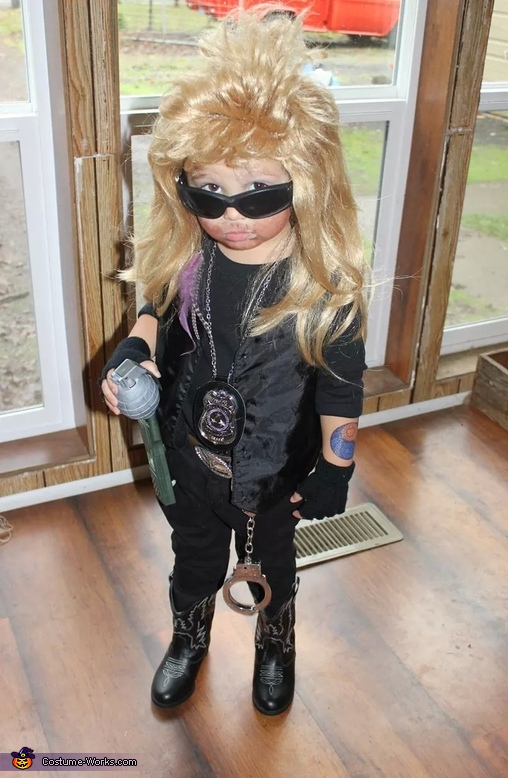 Dog the Bounty Hunter Baby Costume