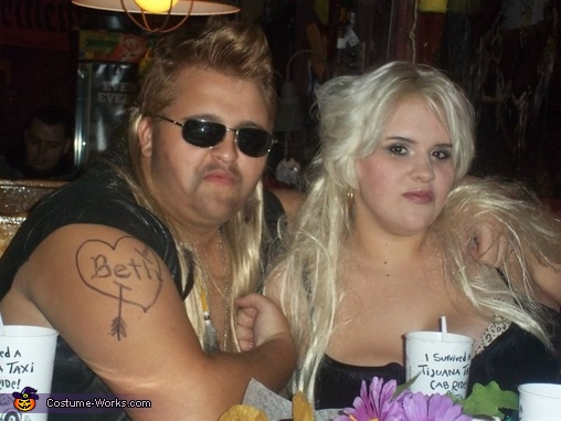 Mace 'em Beth!!!, Dog the Bounty Hunter and Beth Costume