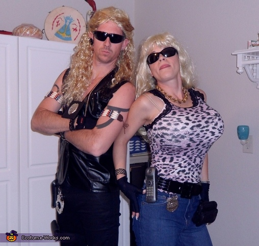 Dog the Bounty Hunter and Beth Costume  sc 1 st  Costume Works & Dog the Bounty Hunter and Beth Couple Halloween Costume