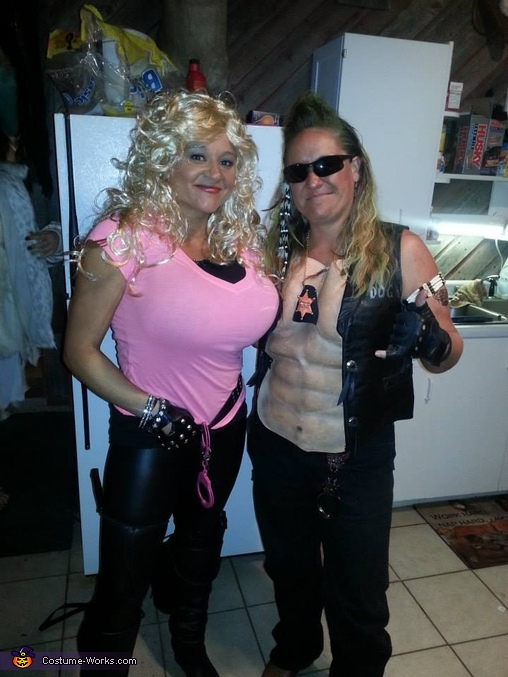 Dog the Bounty Hunter and wife Beth Costume  sc 1 st  Costume Works & Dog the Bounty Hunter and wife Beth Halloween Costume