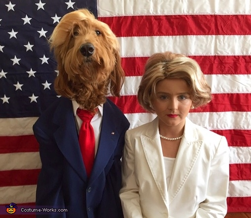Dogald Trump & Hillary Costume