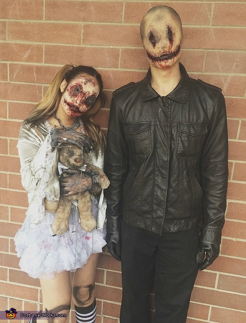 Doll and Smiley Costume