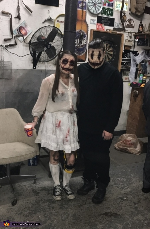 Doll & smiley, Doll and Smiley Costume