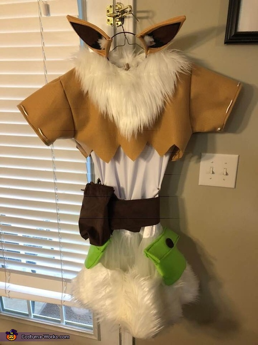 Dollightful Eeve Homemade Costume